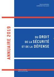 Annuaire 2019 du Droit, de la Sécurité et de la Défense