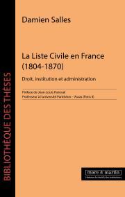 La Liste Civile en France (1804-1870)