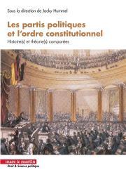 Les partis politiques et l'ordre constitutionnel