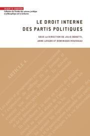 Le droit interne des partis politiques