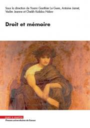 Droit et mémoire