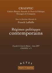 Régimes politiques contemporains