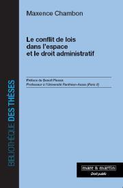 Le conflit de lois dans l'espace et le droit administratif