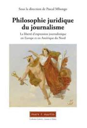 Philosophie juridique du journalisme