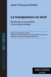 La transparence en droit