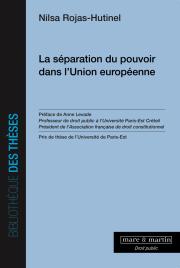 La séparation du pouvoir dans l'Union européenne
