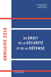 Annuaire 2016 de la Defense, de la Sécurité et de la Défense